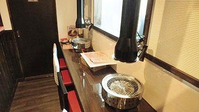 ときわ亭八木山店 カウンター席もご用意しております。